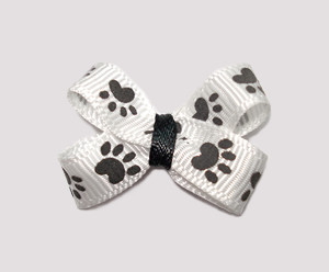 #BBTQ080 - Baby Boutique Dog Bow - Paw-sitively Cute Puppy Paws