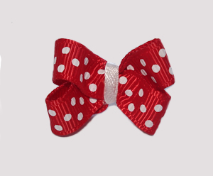 #BBTQ094 - Baby Boutique Dog Bow - Classic Red
