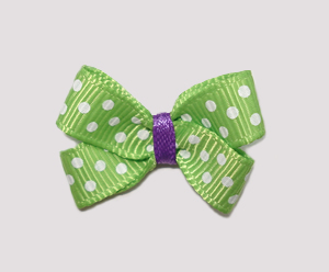 #BBTQ097 - Baby Boutique Dog Bow - Apple of My Eye, Green