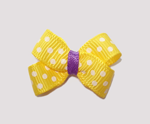#BBTQ200 - Baby Boutique Dog Bow - Daffodil Yellow