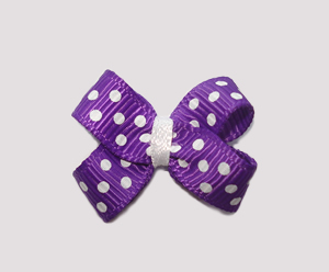 #BBTQ230 - Baby Boutique Dog Bow - Vibrant Violet