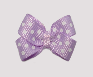 #BBTQ620 - Baby Boutique Dog Bow - Baby Lavender