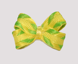 #BBTQ750 - Baby Boutique Dog Bow - Zesty Lemon/Lime
