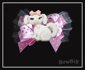 #BTQ190 - Boutique Dog Bow - Perfectly Pretty Pup
