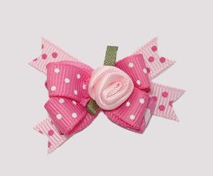 #BTQM130 - Mini Boutique Dog Bow Sugar 'n' Spice