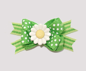 #BTQM150 - Mini Boutique Dog Bow Daisy Delight
