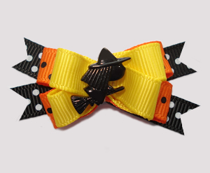 #BTQM700 - Mini Boutique Dog Bow Wee Little Halloween Witch