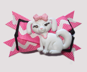 #BTQM804 - Mini Boutique Dog Bow Pampered Pooch