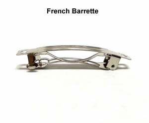 #DBAR0112 - Do It Yourself - French Barrette