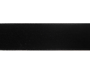 "#DIY58-0110 - 12"" of 5/8"" Ribbon - Classic Black Velvet"