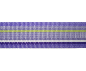 "#DIY58-0160- 12"" of 5/8"" Ribbon- Shades of Purple, Stripes"