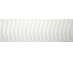 "#DIY58-0580 - 12"" of 5/8"" Ribbon- Classic White"