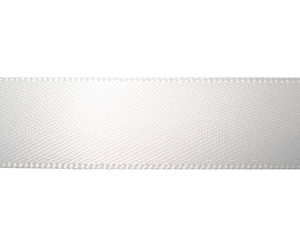 "#DIY58-0630 - 12"" of 5/8"" Ribbon- Classic White"