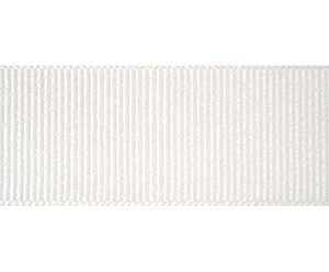 "#DIY78-0280 - 12"" of 7/8"" Ribbon - Classic White Grosgrain"