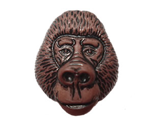 #DIYEM-4310 - Novelty Button Gorilla