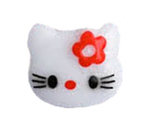 #DIYEM-4350 - Novelty Button Hello Little Kitty