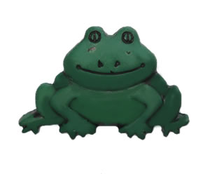 #DIYEM-4380 - Novelty Button Frog Prince