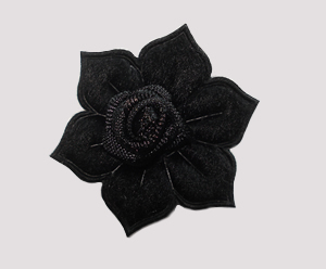 #FP0064 - Flower Power - Midnight Black Rose