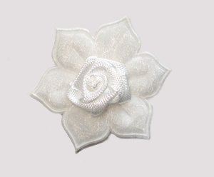 #FP0068 - Flower Power - Classic White Rose