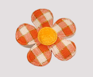 #FP0100 - Flower Power - Pretty Plaid, Hazy Days Orange
