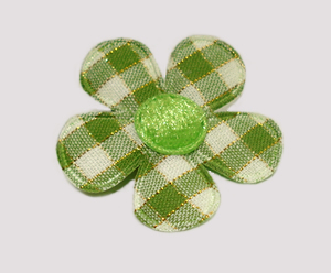 #FP0400 - Flower Power - Pretty Plaid, Summer Green