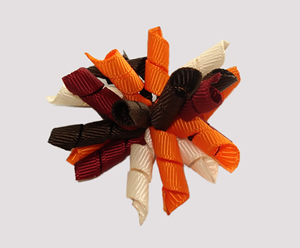 "#KRKM423 - Mini Korker Dog Bow - ""Fall""-ing For You"