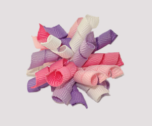#KRKM460 - Mini Korker Dog Bow - Sugar Plum Baby
