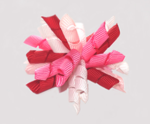 #KRKM570 - Mini Korker Dog Bow- My Little Valentine