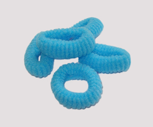 #SF0051 - Scrunchie Fun - Sky Blue, Pkg of 5