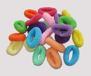 #SF0060 - Scrunchie Fun - Package of Assorted Colors, 22 pc