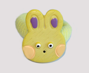 #SF0170 - Scrunchie Fun - Hunny Bunny, Yellow
