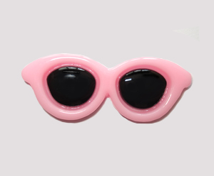 #SG005 - Dog Hair Clip - Sizzlin' Summer Sunglasses - Light Pink