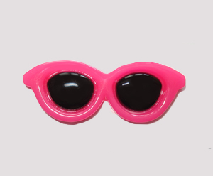 #SG009 - Dog Hair Clip - Sizzlin' Summer Sunglasses - Hot Pink