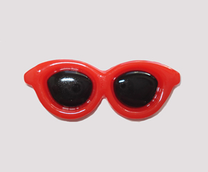 #SG033 - Dog Hair Clip - Sizzlin' Summer Sunglasses - Red