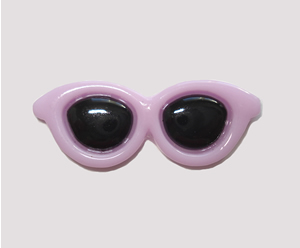 #SG044 - Dog Hair Clip - Sizzlin' Summer Sunglasses - Purple