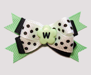 #BTQM946 - Mini Boutique Dog Bow Fresh & Marvelous Mint
