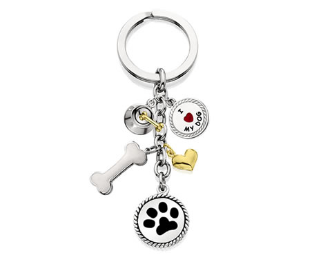 #K9320 - Dog Lover Keychain